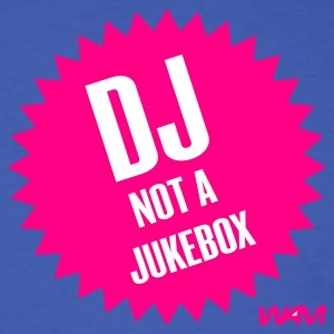Royal blue djn ot a jukebox by wam T-Shirts - Men's T-Shirt