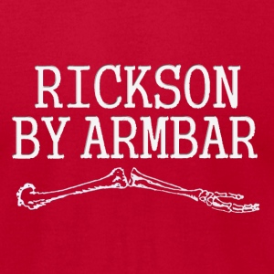 Rickson by armbar - Men's T-Shirt by American Apparel