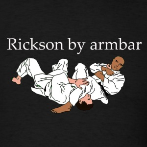 Rickson by armbar - Men's T-Shirt