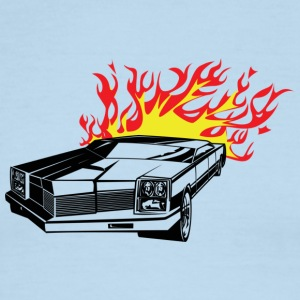 Flamin' Hot Rod - Men's Ringer T-Shirt