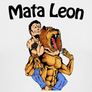 Mata Leon - Rear Naked Choke - The Lion Kill - Men's Long Sleeve T-Shirt by Next Level