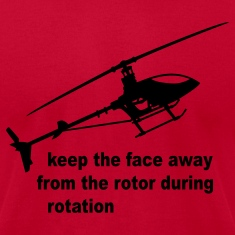 Lemon helicopter rotor warning T-Shirts