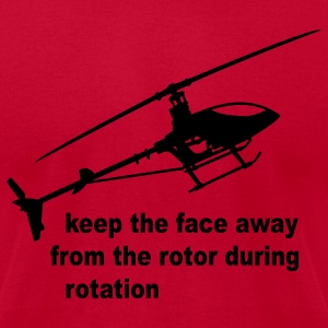 Lemon helicopter rotor warning T-Shirts - Men's T-Shirt by American Apparel