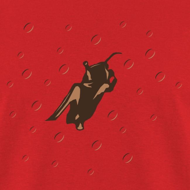 Space Bat Hangs On Mens Tee