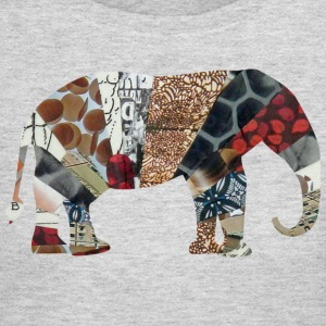 Gray ELEPHANT Long sleeve shirts - Women's Long Sleeve Jersey T-Shirt