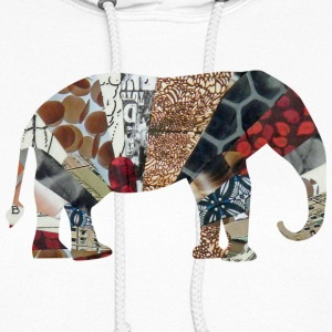 White ELEPHANT Hooded Sweatshirts - Women's Hoodie