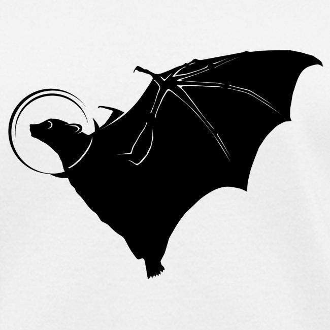 Space Bat Helmet Ladies Tee (Light)