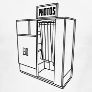 Design ~ Photobooth.net Men's Ringer T-Shirt