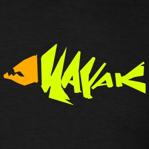 kayak fish shirt - Men's T-Shirt