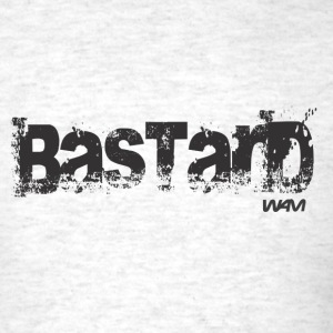 Ash  bastard black by wam T-Shirts - Men's T-Shirt