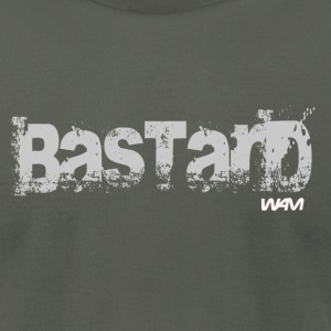 Asphalt bastard grey by wam T-Shirts - Men's T-Shirt by American Apparel