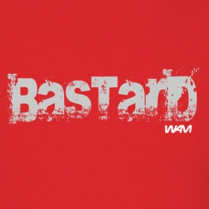 Red bastard grey by wam T-Shirts - Men's T-Shirt