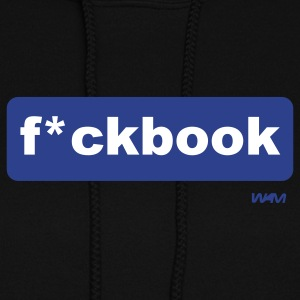 Black f*ckbook by wam Hooded Sweatshirts - Women's Hoodie