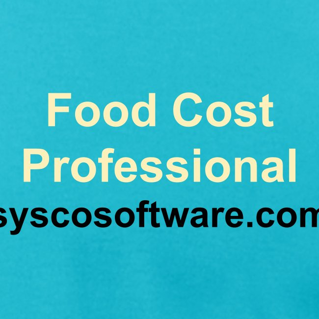 Sysco Food Cost Pro Blue Tee | Men's Jersey T-Shirt
