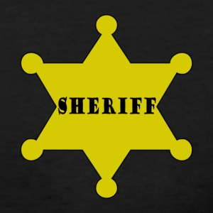 Sheriff - Women's V-Neck T-Shirt
