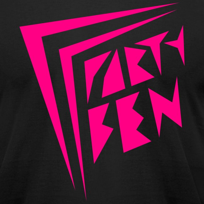 Party Ben Awesome 80s Black/Pink