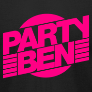 Design ~ Party Ben Logo Black/Pink