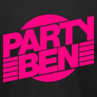 Design ~ Party Ben Logo Black/Pink