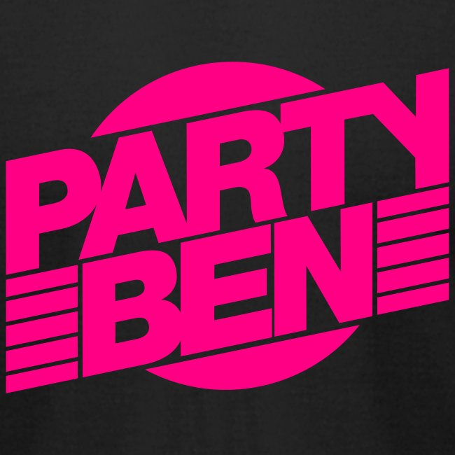 Party Ben Logo Black/Pink
