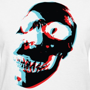 3 Color Skull - Women's T-Shirt