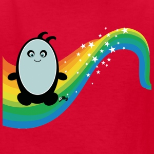 Red rainbowpilly2 Kids' Shirts - Kids' T-Shirt