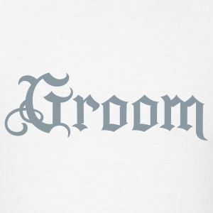 White Groom tattoo style T-Shirts - Men's T-Shirt