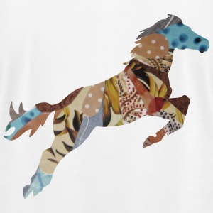 White STALLION T-Shirts - Men's T-Shirt by American Apparel