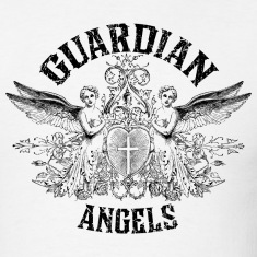 White Guardian Angels T-Shirts
