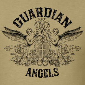 Khaki Guardian Angels T-Shirts - Men's T-Shirt