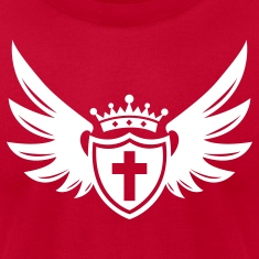 """Shield of Faith"" Mens Designer T-Shirt"