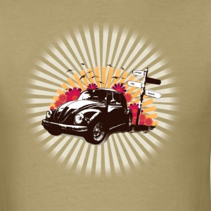 Khaki College Bug T-Shirts - Men's T-Shirt