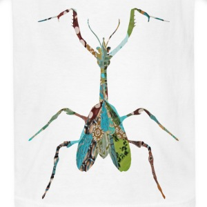 White INSECT : MANTIS Kids Shirts - Kids' T-Shirt
