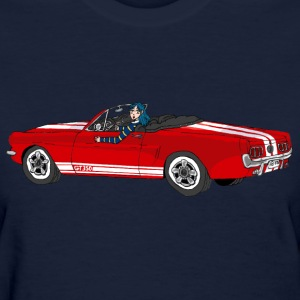 1965 Mustang Girl - Women's T-Shirt