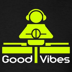Black Good Vibes T-Shirts