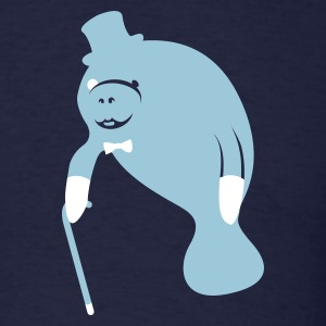 Sir Manatee - Men's T-Shirt