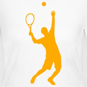 Tennis - Women's Long Sleeve Jersey T-Shirt