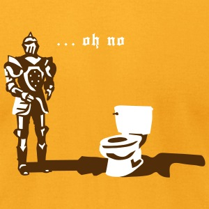 Knight Toilet - Men's T-Shirt by American Apparel