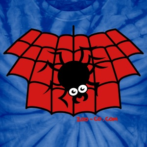 Spider navy Spy the Man T-Shirts - Unisex Tie Dye T-Shirt