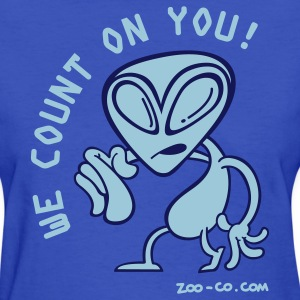 Light blue Alien Recruiter Women's T-Shirts - Women's T-Shirt
