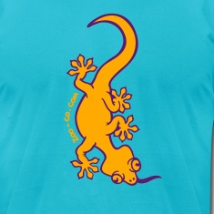 Turquoise Gecko T-Shirts