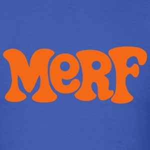 Royal blue Daniel Merf Murphy T-Shirts - Men's T-Shirt