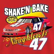 Design ~ NAUGHTON SHAKE AND BAKE T-SHIRT