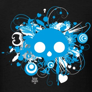 Black Retroskull T-Shirts - Men's T-Shirt