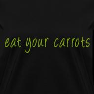 Design ~ Eat Your Carrots - Front & Back