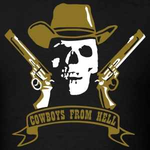 Black cowboys_from_hell T-Shirts - Men's T-Shirt