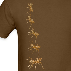 Brown ARMY of ANTS T-Shirts - Men's T-Shirt