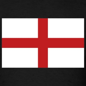 Black English Flag T-Shirts - Men's T-Shirt