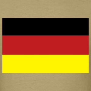 Khaki German Flag T-Shirts - Men's T-Shirt