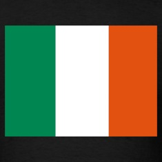 Black Irish Flag T-Shirts
