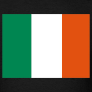 Black Irish Flag T-Shirts - Men's T-Shirt